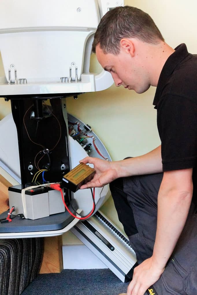 stairlift servicing and maintenance