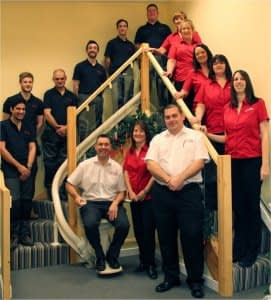 The 1st choice stairlift team