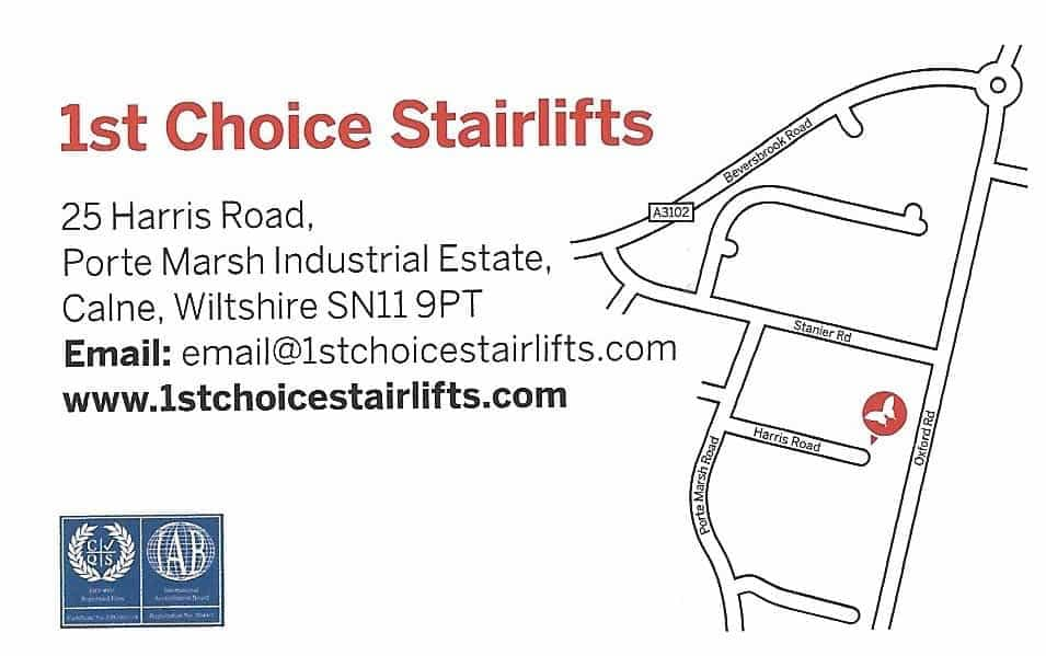 how to find first choice stairlifts