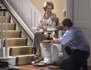 fitting a new stairlift in berkshire