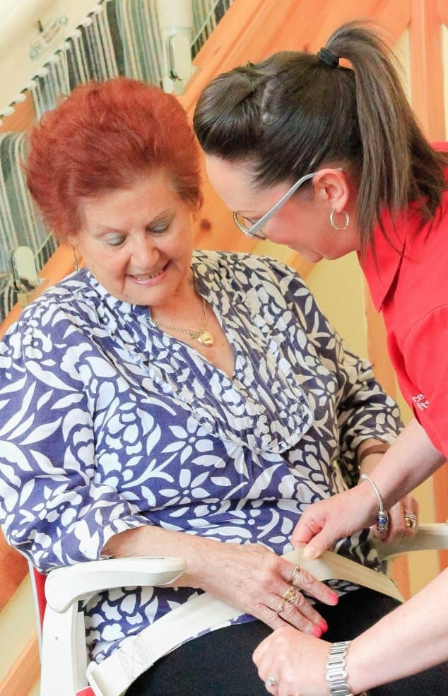 how to use a stairlift